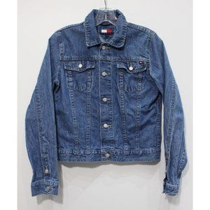 Vintage Tommy Hilfiger womens M denim jean jacket